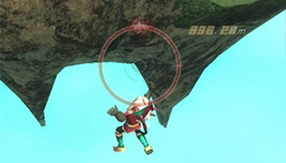 Rodea: The Sky Soldier Falling