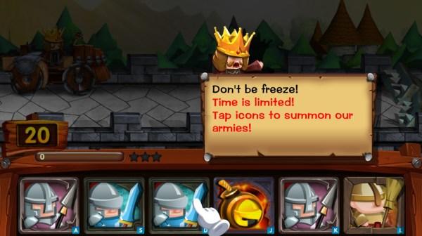 Tap Tap Legions Don't be freeze!