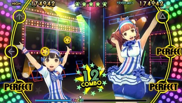 Persona 4: Dancing All Night Kanami and Nanako