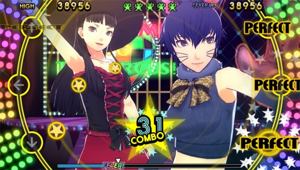 Persona 4: Dancing All Night Naoto and Yukiko