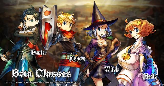 Grand Kingdom Beta Playable Classes