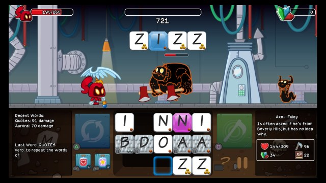 Letter Quest Remastered Illegal Word