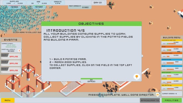 Space mining clicker Review - The Backlog