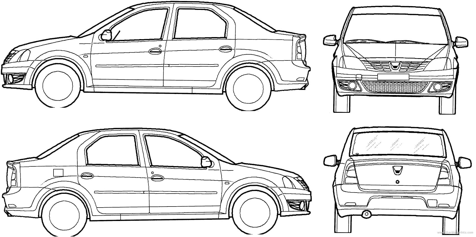 Blueprints Gt Cars Gt Dacia Gt Dacia Logan