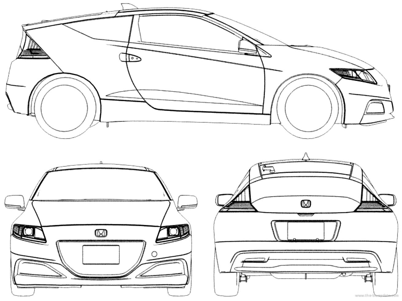Blueprints Gt Cars Gt Honda Gt Honda Cr Z