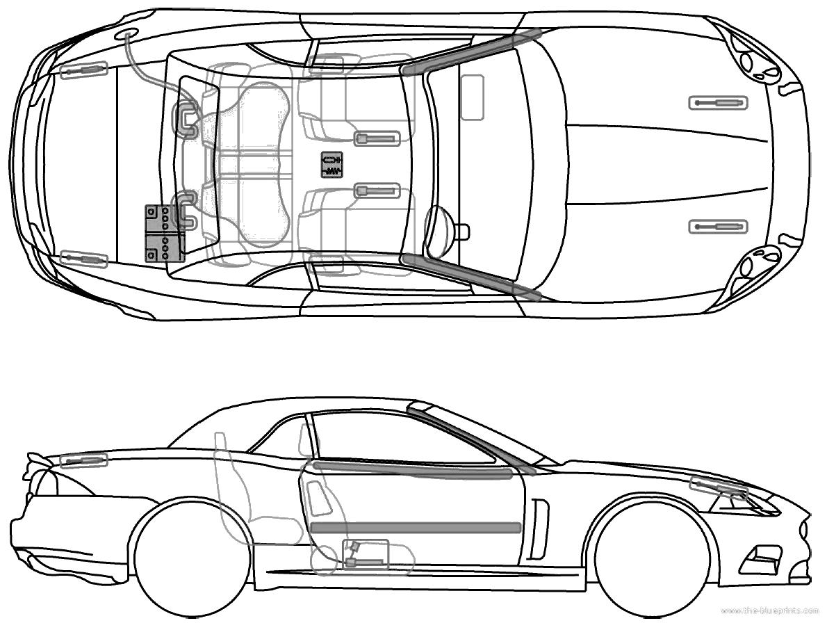 Blueprints Gt Cars Gt Jaguar Gt Jaguar Xk Cabriolet