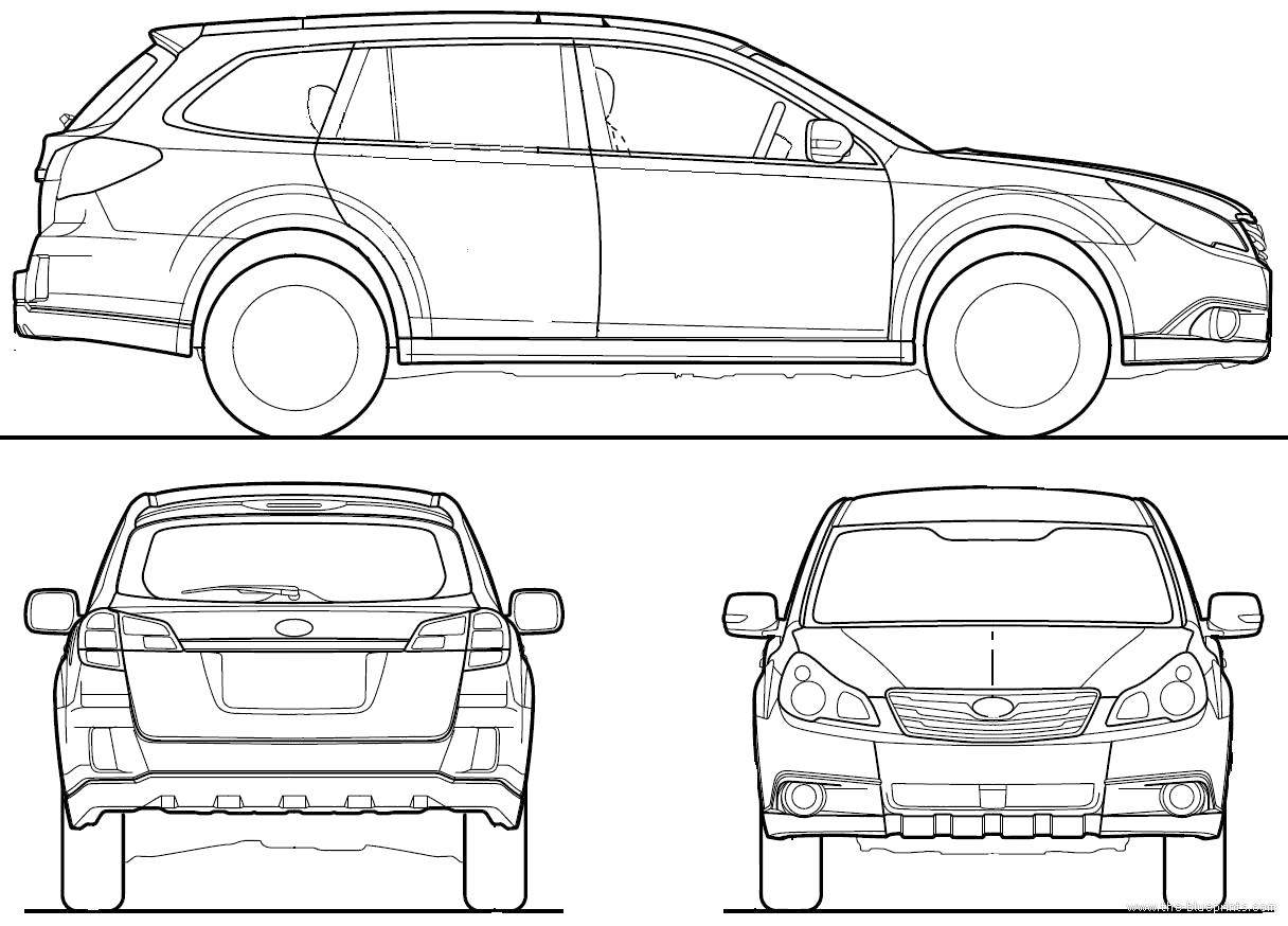Blueprints Gt Cars Gt Subaru Gt Subaru Legacy Outback