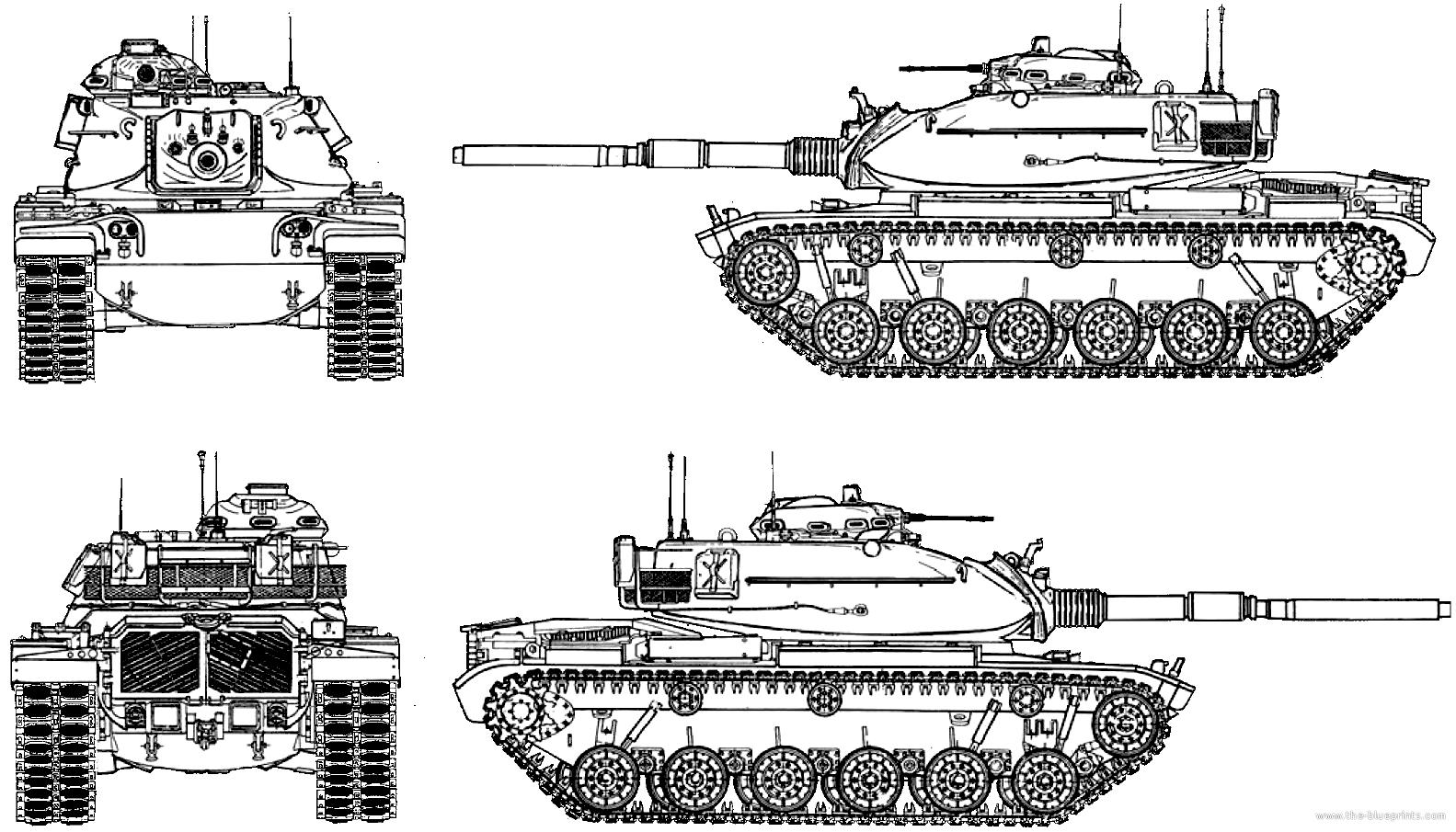 Blueprints Gt Tanks Gt Tanks M Gt M60a3 Patton