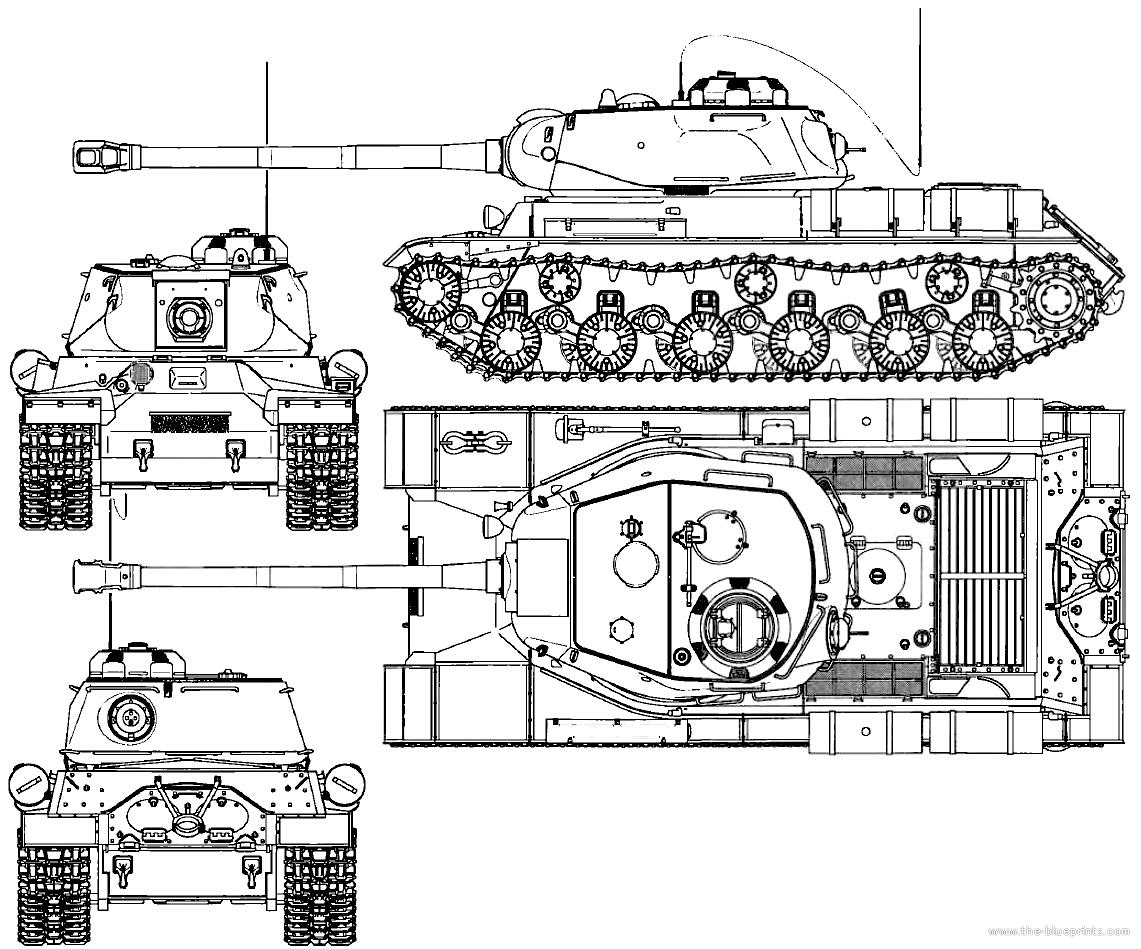 Blueprints Gt Tanks Gt Ww2 Tanks Soviet Union Gt Is 2 Early
