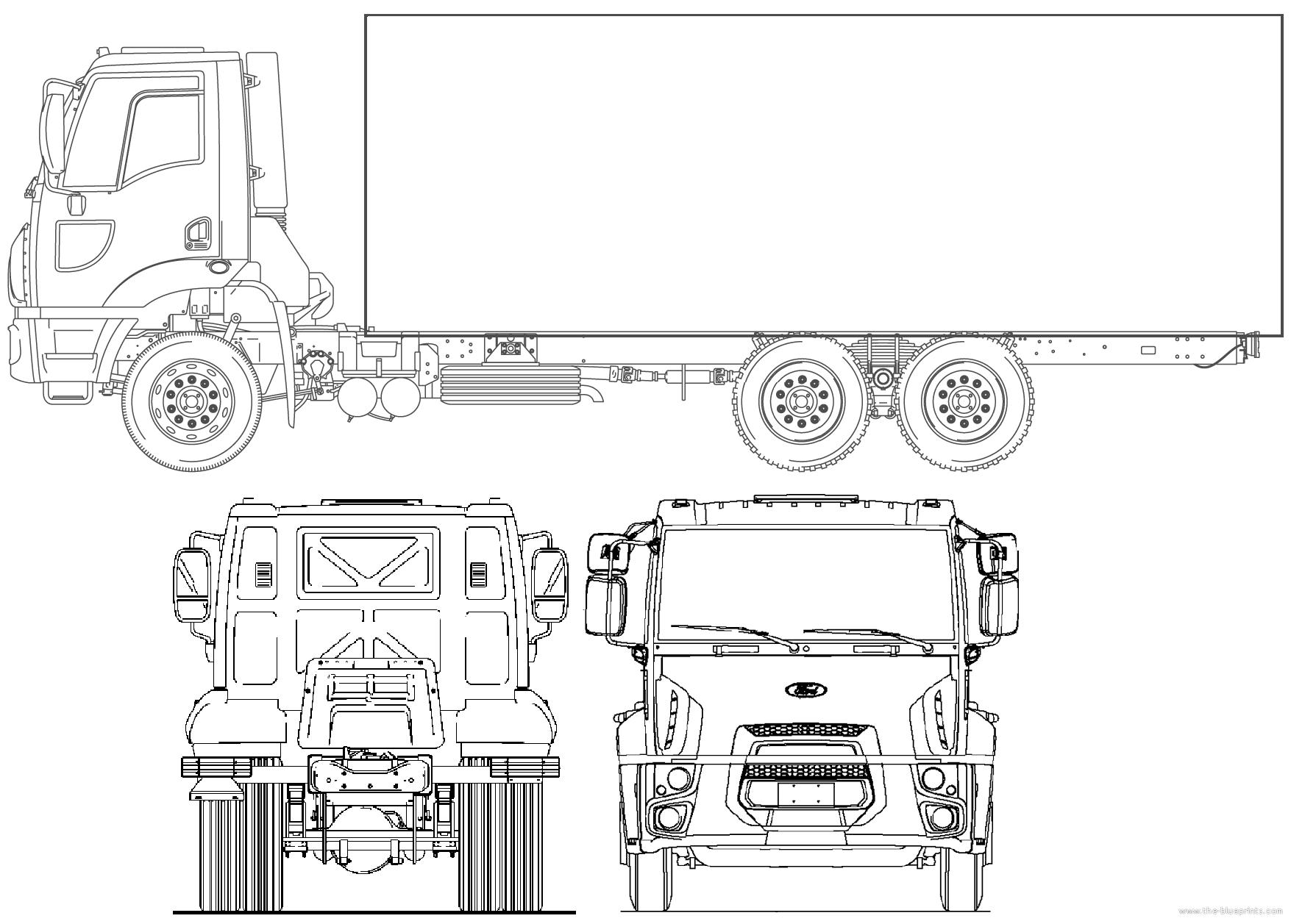 Blueprints Gt Trucks Gt Ford Gt Ford Br Cargo