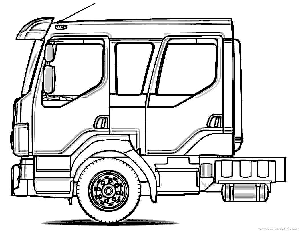 Blueprints Gt Trucks Gt Volvo Gt Volvo Crew Cab Truck