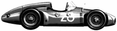 Bugatti 251 F1 GP (1956)