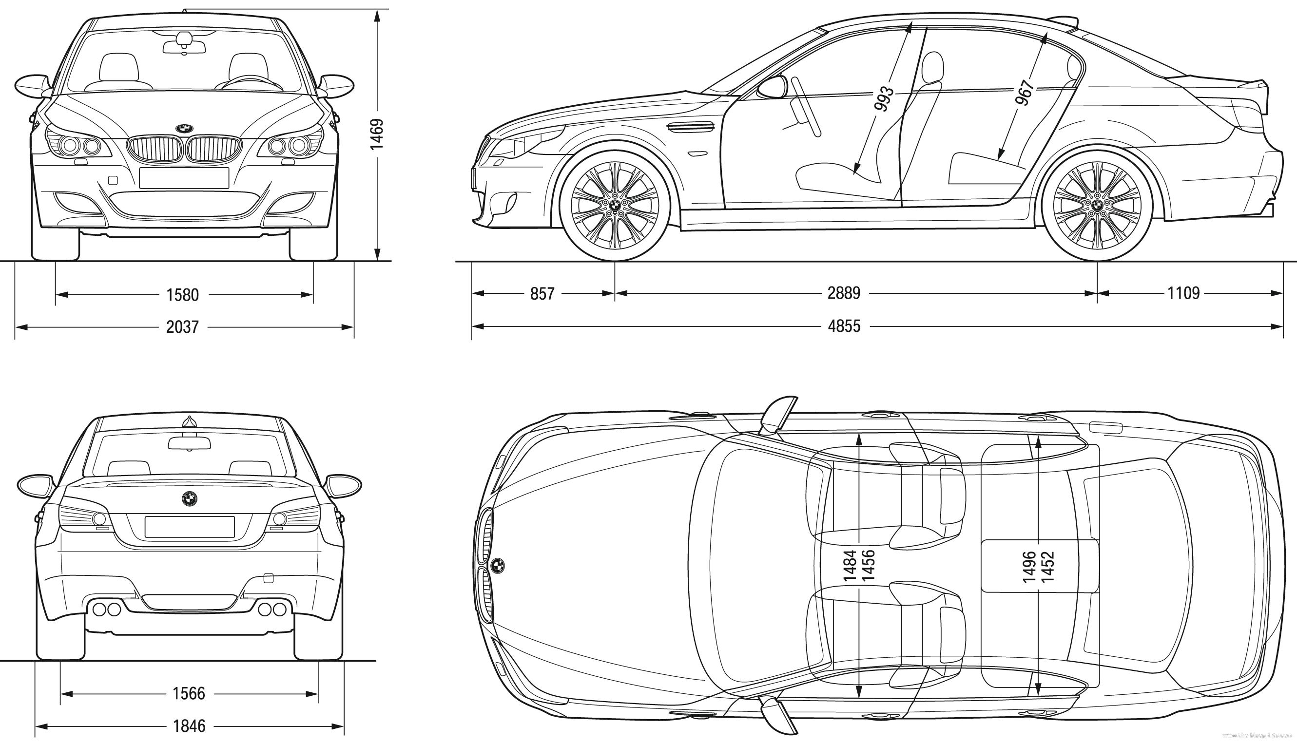 Bmw 528i Interior Dimensions