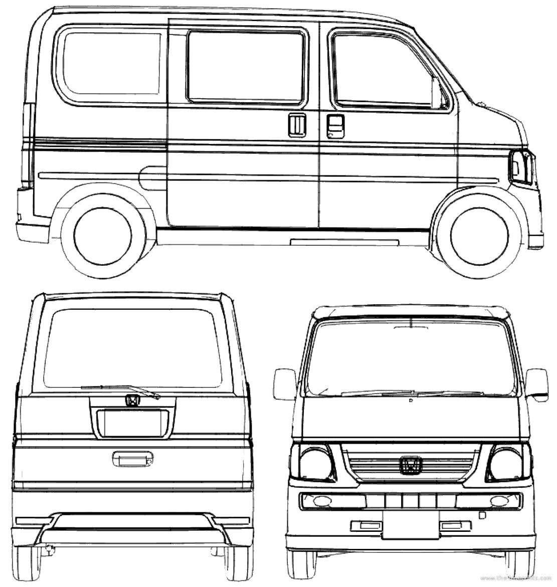 blueprints gt cars gt honda gt honda vamos