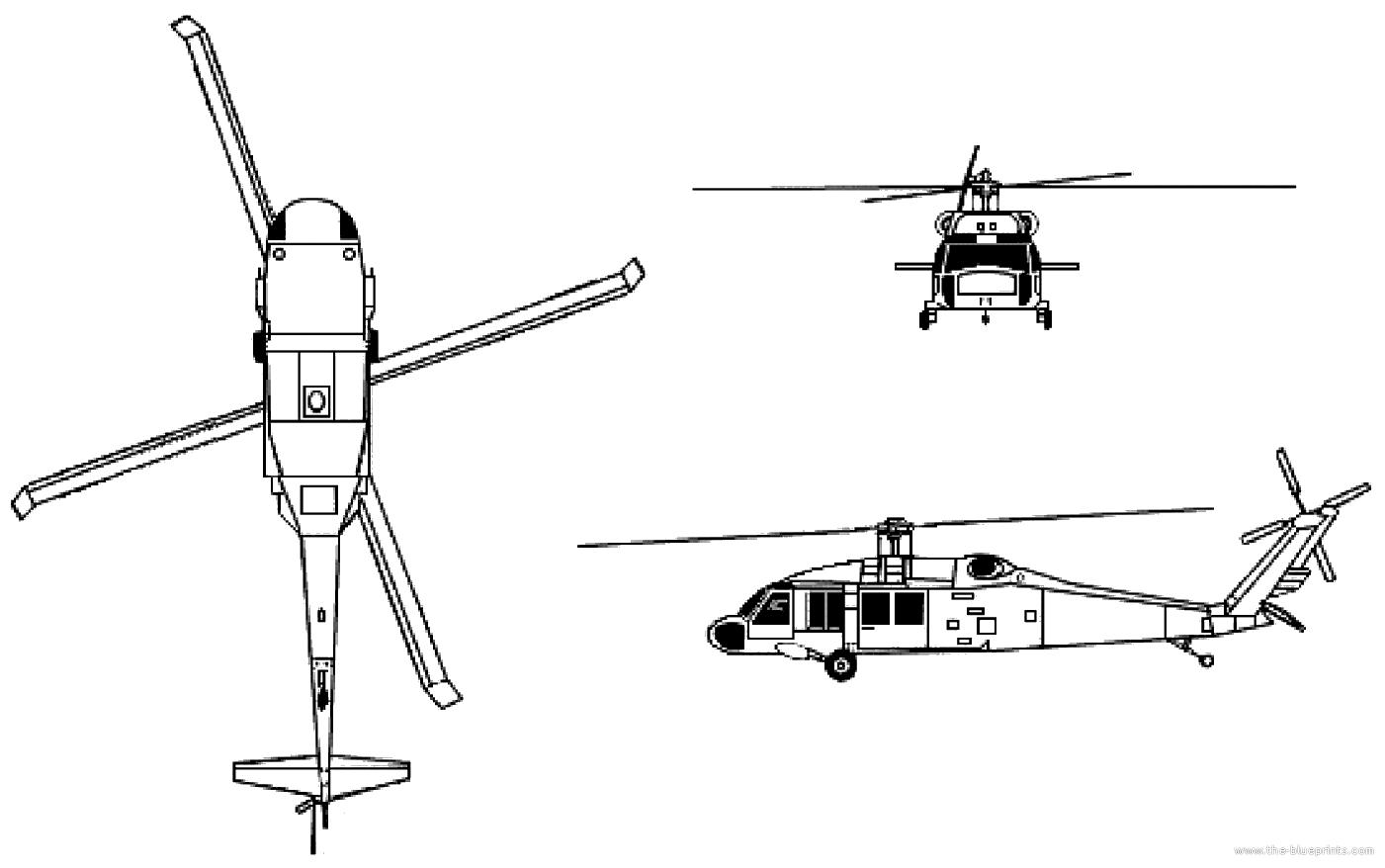 Sikorsky S 76 Dimensions