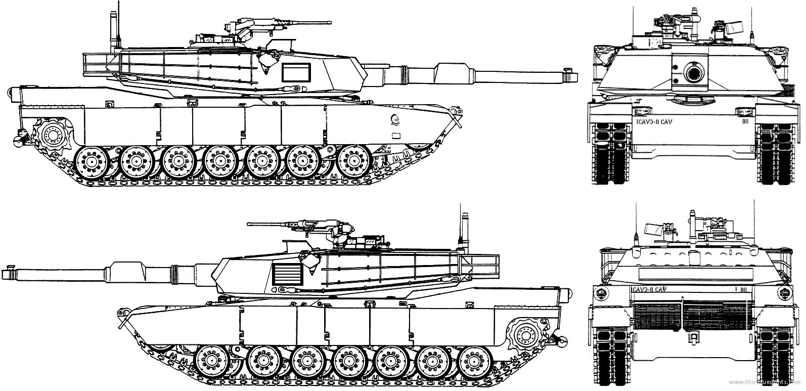 M1a1 Schematics