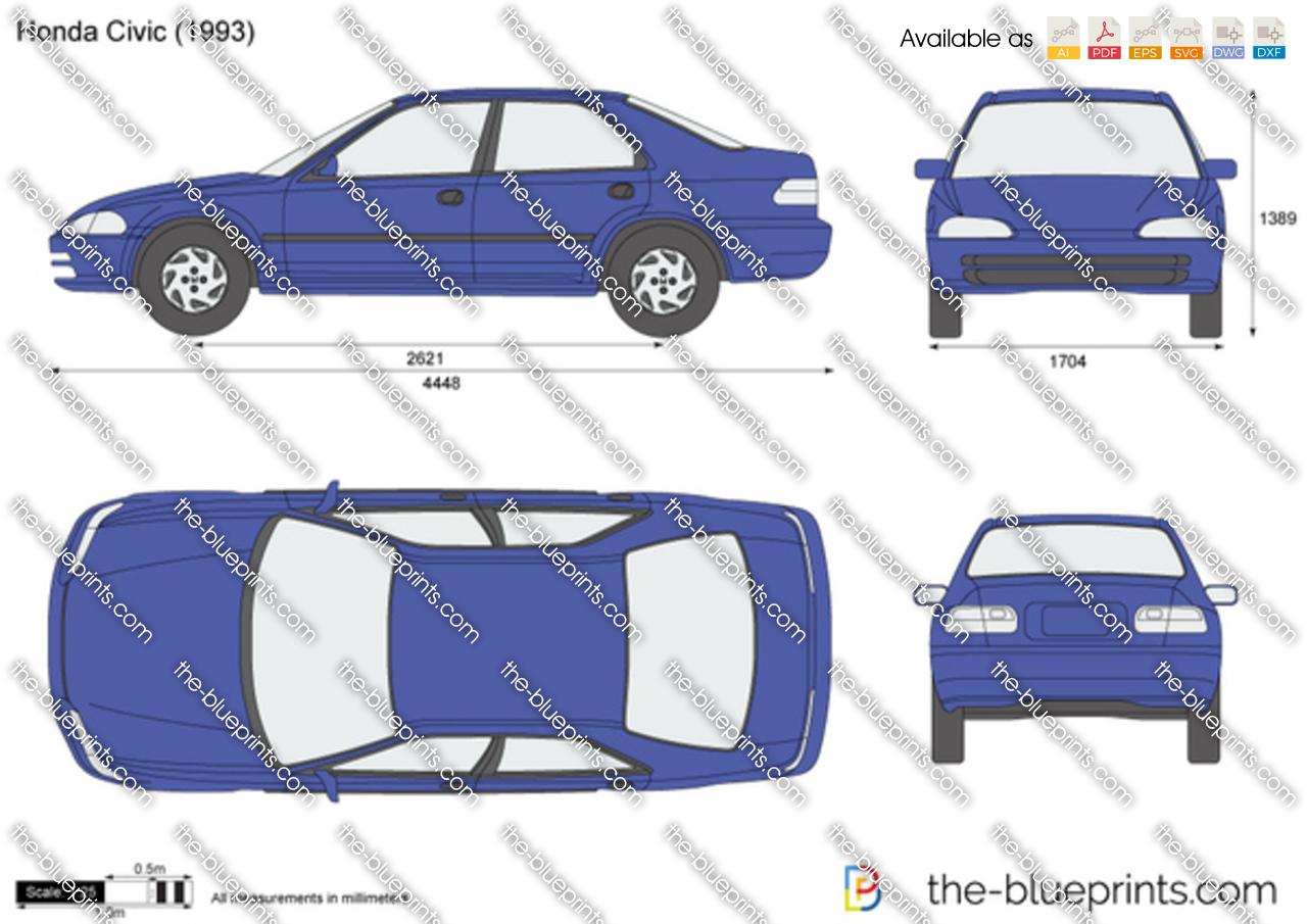 1995 Honda Civic Dx Drawings