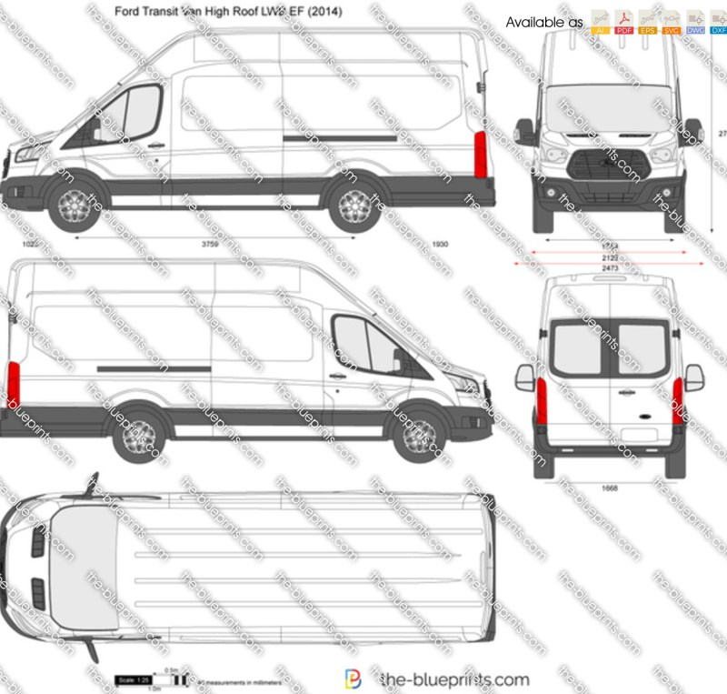 Ford Transit 350 Lwb Specificaties: Ford Transit Connect Lwb High Roof Interior Dimensions