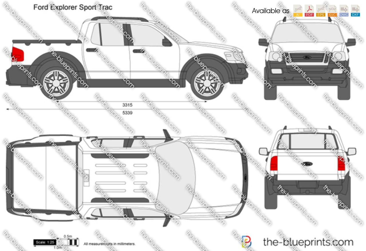 Ford Explorer Sport Dimensions