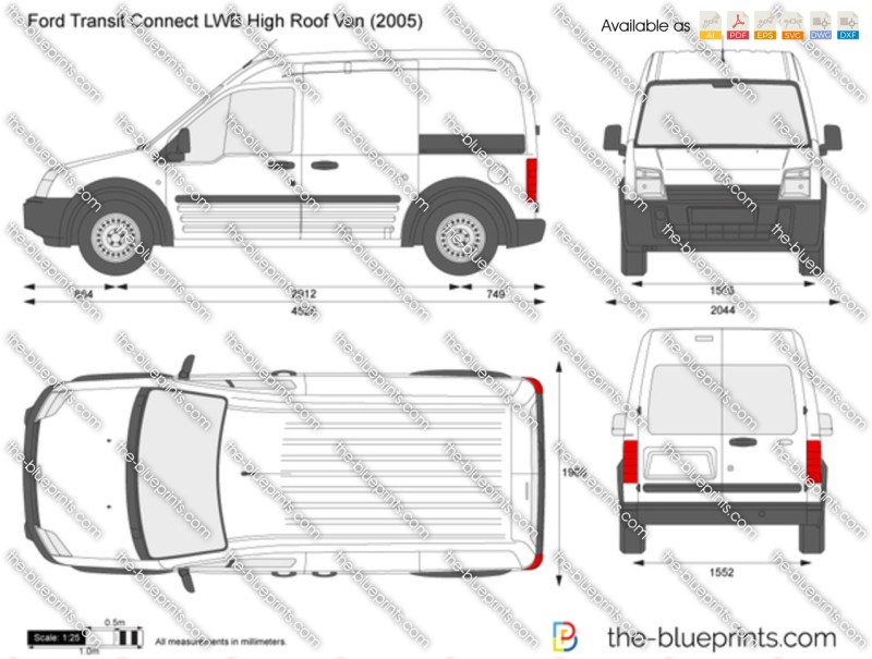 Ford transit connect lwb interior dimensions - Transit connect interior dimensions ...