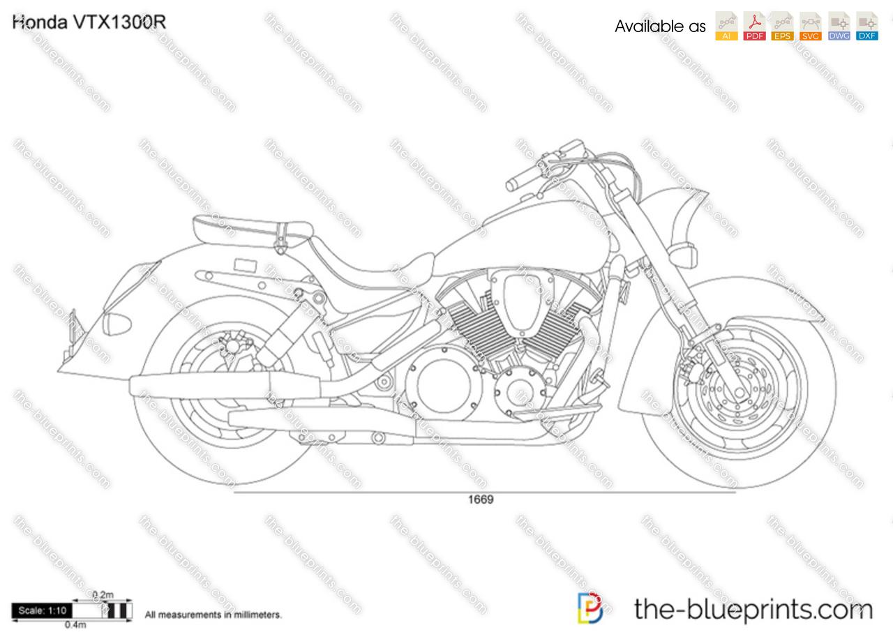 2005 Honda Vtx 1300 Bagger | Wiring Diagram Database