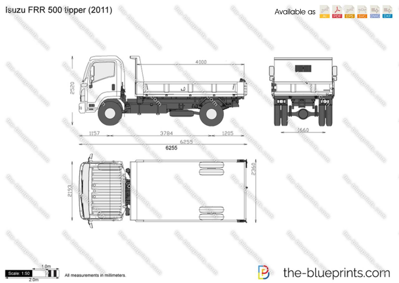isuzu frr fuse box wiring diagram Toyota Truck Wiring Diagram