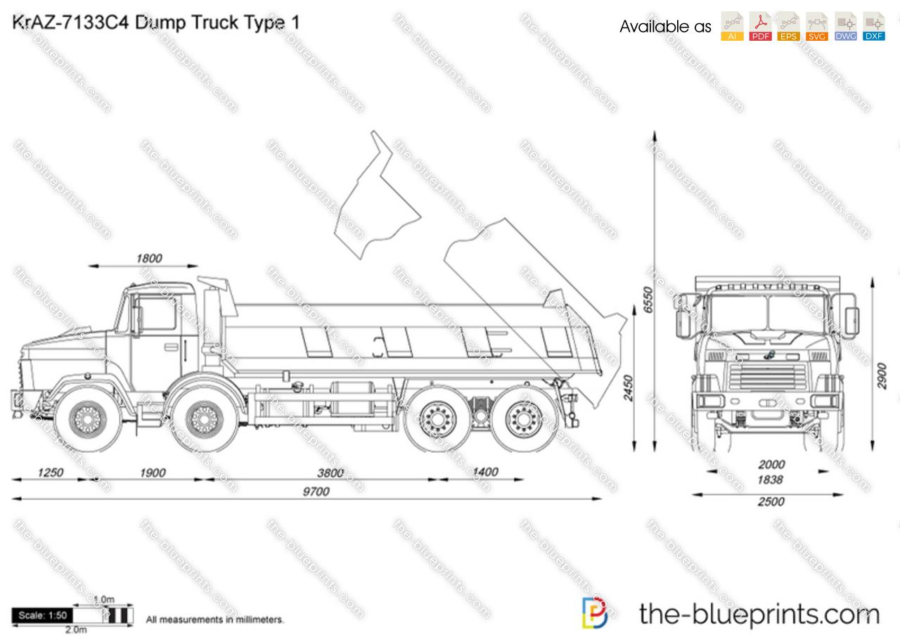 Mack Tri Axle Dump Truck