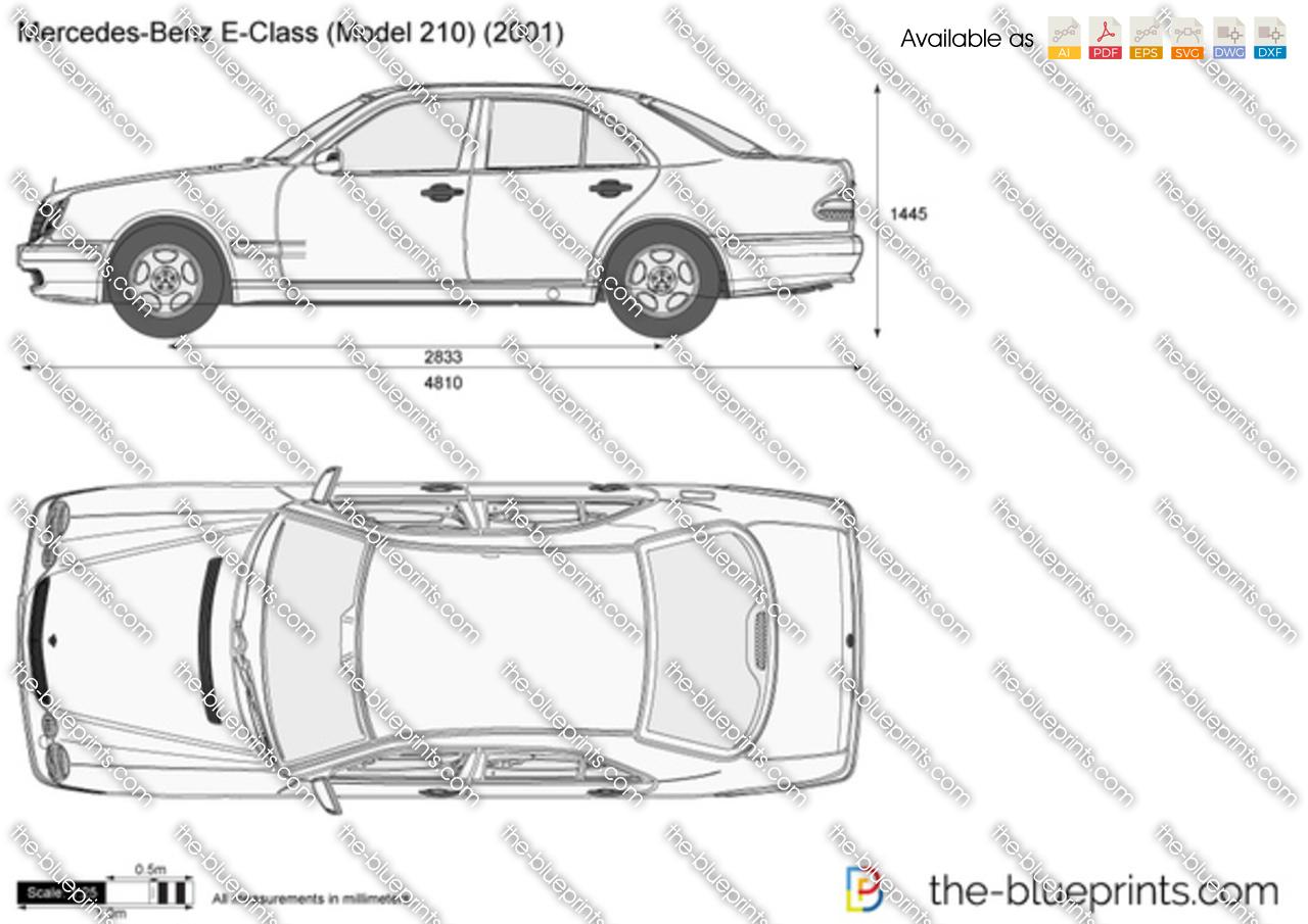 Mercedes Benz E320 Dimensions