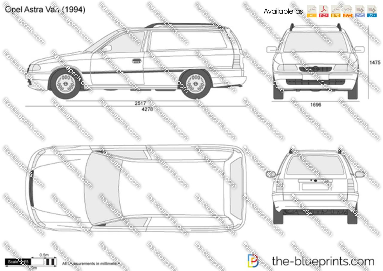 Opel Astra H Van