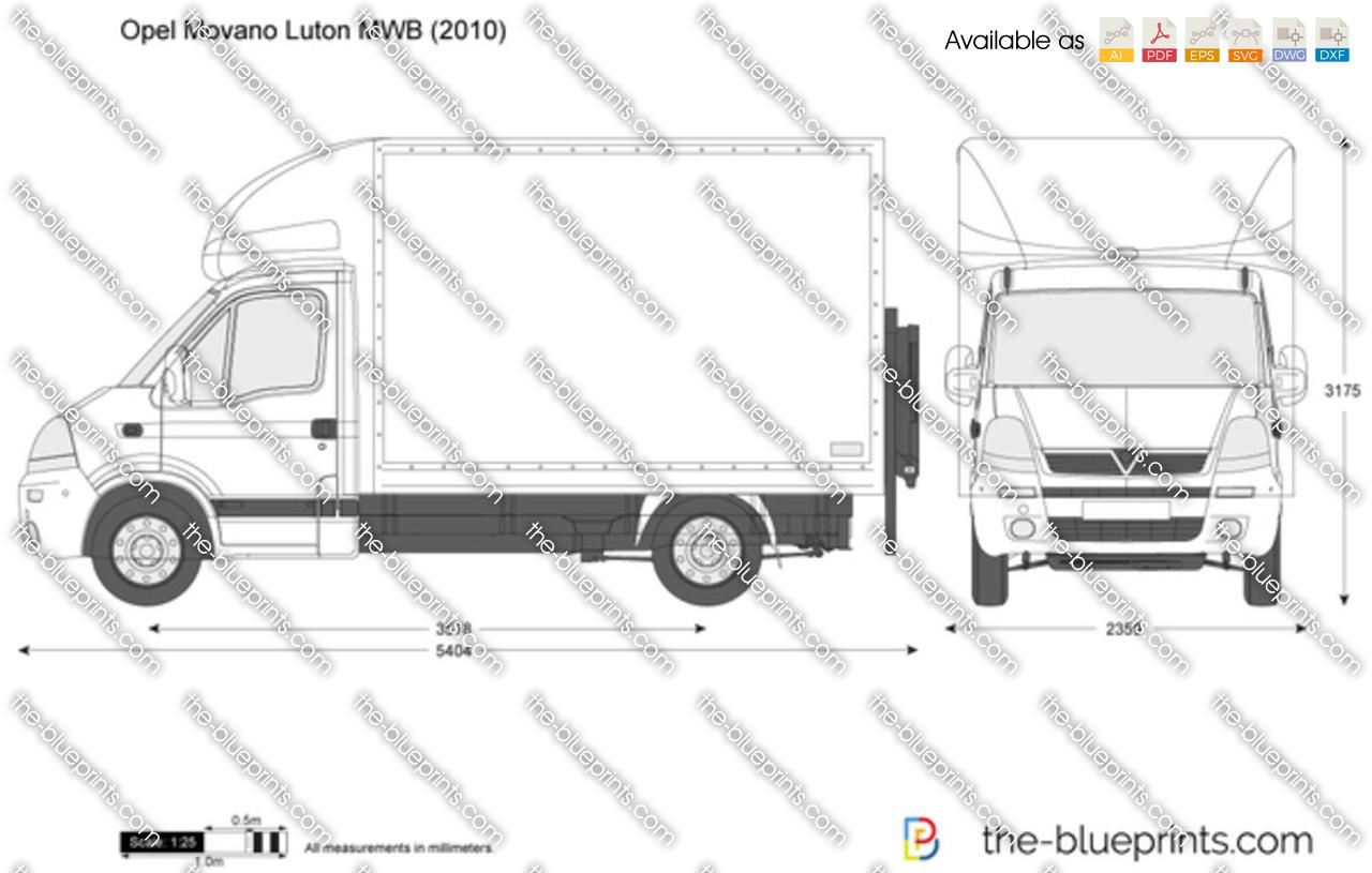 Ford Luton Van Dimensions