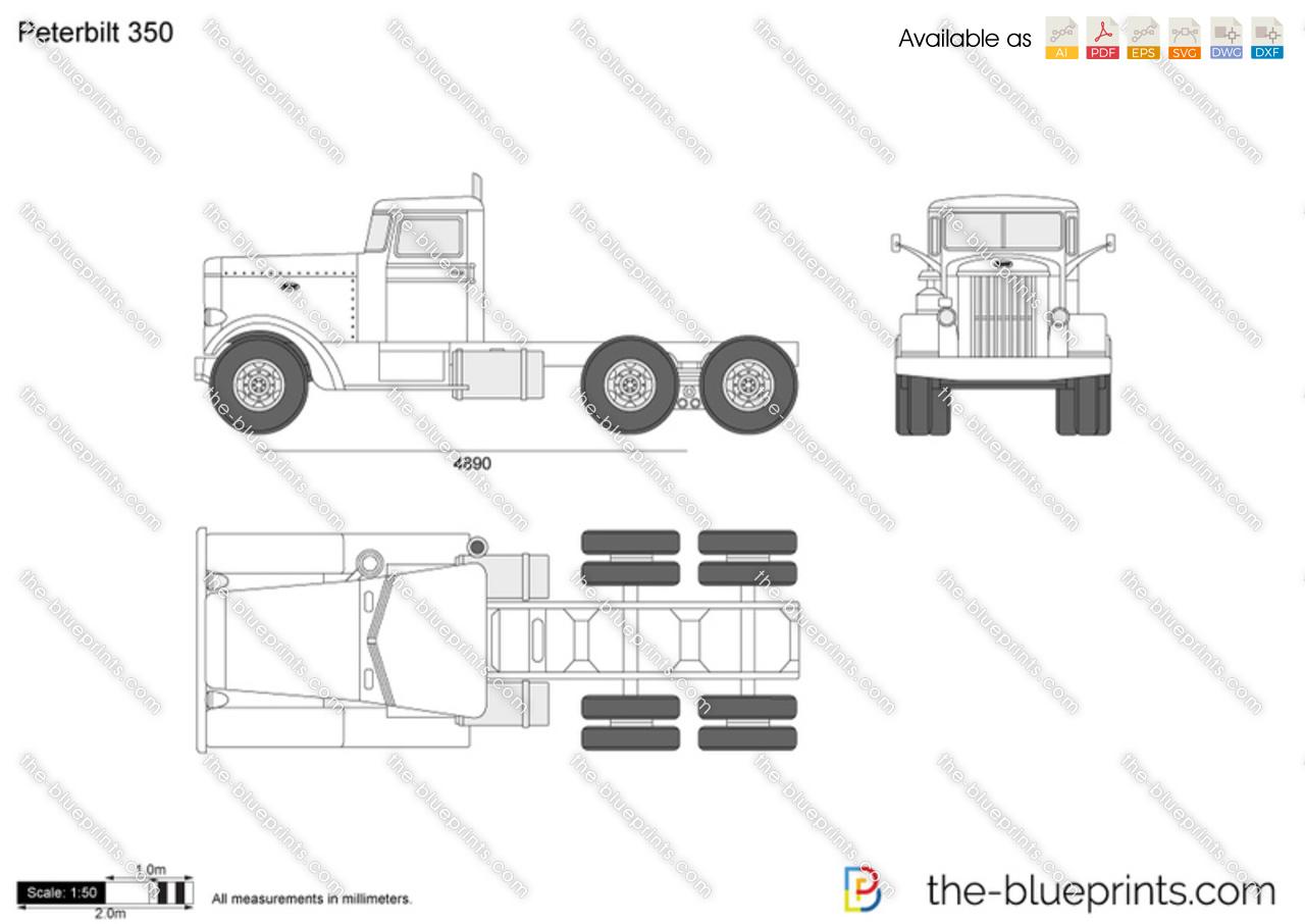 Peterbilt 379 Blueprints