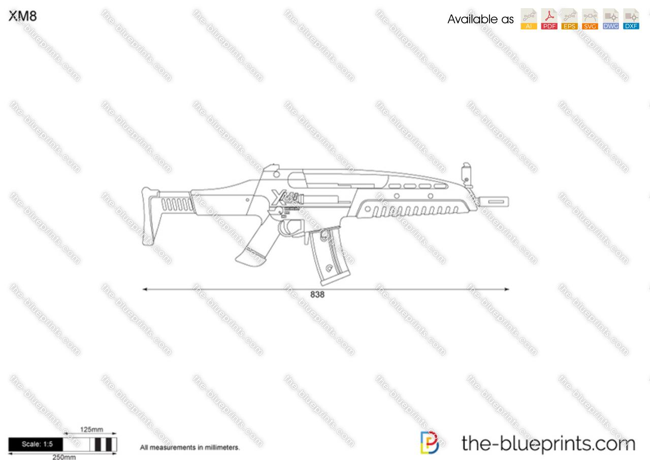 Xm8 Vector Drawing