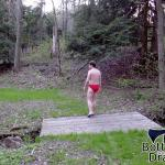 "Walking a Path 1"" Solar Speedo Swim Brief"