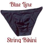 Blue Line String Bikini Review
