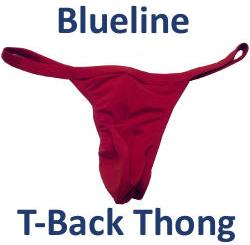 Blueline T-back Thong Review