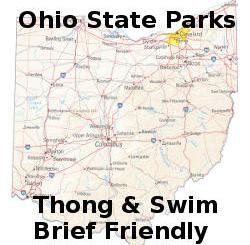 Ohio State Parks - Thong & Swim Brief Friendly