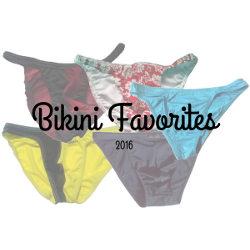2016 Bikini Favorites