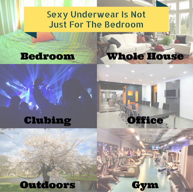 Sexy Underwear Is Not Just For The Bedroom