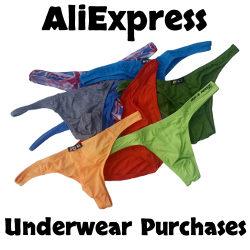 AliExpress First Time Underwear Ordering