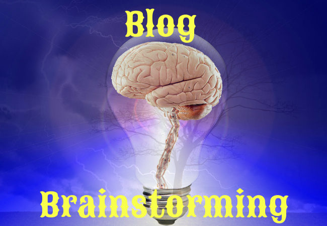Blog Brainstorming