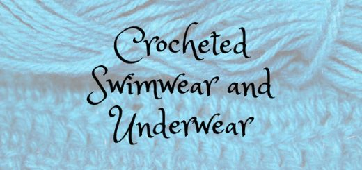 Crocheted Swimwear and Underwear