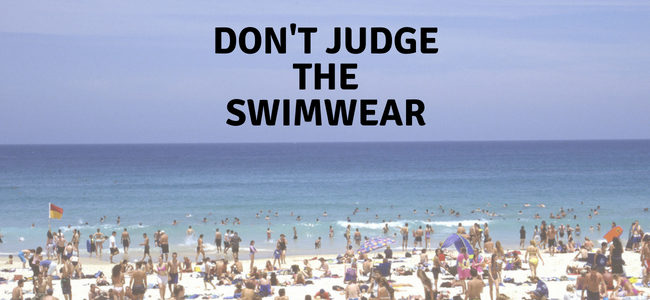Don't Judge The Swimwear