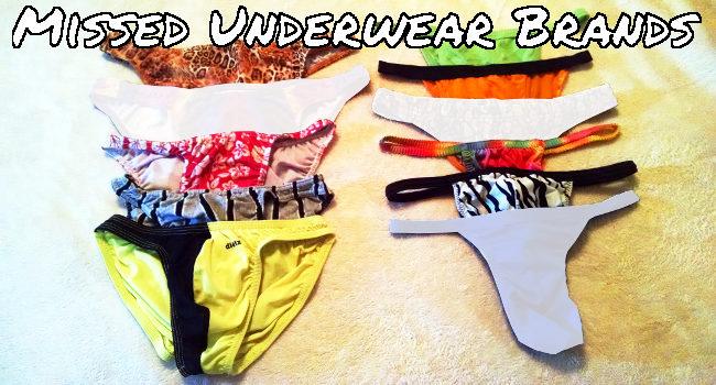 Missed Underwear Brands