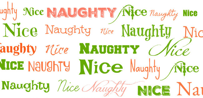 underwear swimwear brand naughty or nice list