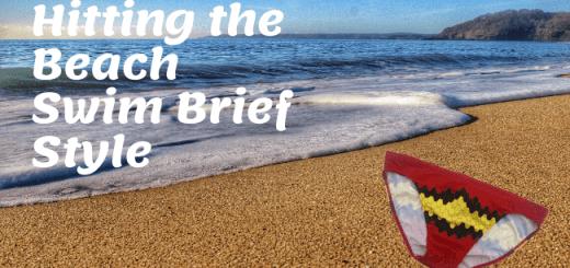 Hitting the beach swim brief style