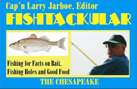 Fishtackular Fishing Advise by Cap'n Larry Jarboe  THE CHESAPEAKE