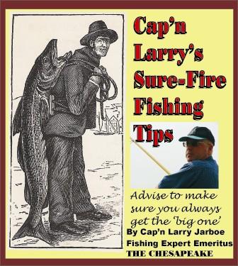 Cap'n Larry's Sure-Fire Fishing Tips