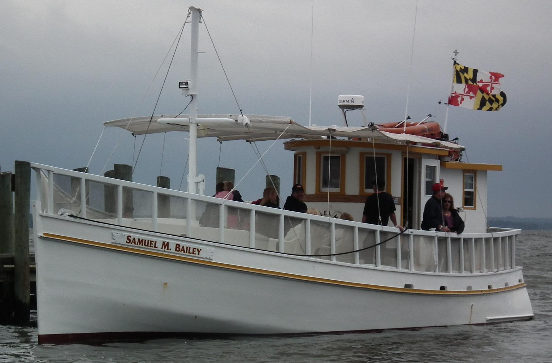 Samuel M Bailey on Potomac