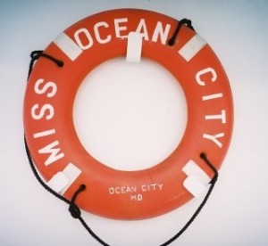 Miss Ocean City life ring