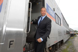 Maryland Gov. Martin O'Malley blew it on his promise to bring commuter rail to Southern Maryland. Shown here, hanging from a new MARC train that serves residents of West Virginia but can't make it to Waldorf.